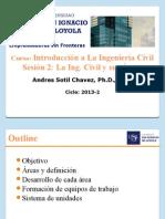 Intro Civil Clase 02 Ing Civil