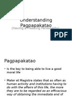 Understanding Pagpapakatao
