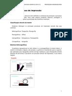 1. Os Processos de Impressão
