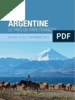 Voyage en Argentine, le pays du pape François