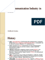 Telecommunication Industry in India