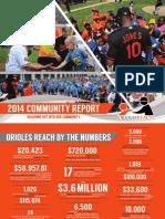 2014 OriolesREACH Community Report