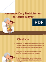alimentacion del adulto mayor