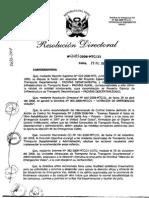 Directiva de Emergencia Vial 006 - 2008-Mtc-21 Atencion a Emergenicas Viales
