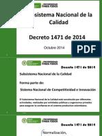 Presentación Decreto 1471 de 2014