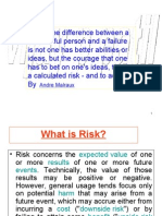 Taking and Managing Risks Effectively