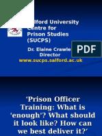 Elaine Crawley - Prison Officer Training