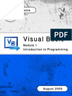 vb module 1 - introduction to programming