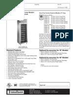 Traulsen UR48WT Wine Refrigerator