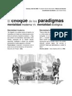 El Choque Paradigmas y El Museo de Ciencias Venezuela (26!08!2006)