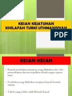 KHILAFAH TURKI UTHMANIYYAH 3