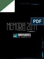 Memoria Innovadores de América 2014