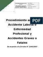 Pseg.pro.01 Procedimiento en Caso de Accidente