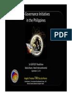 E GOV Initiatives