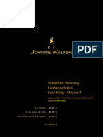 Johnnie Walker Case Study - Brand Communication