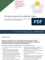 Develop an Enterprise Architecture Vision