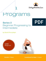 Beginner to Intermediate Yoga-DYWM