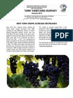 2011 Vineyard Survey Release
