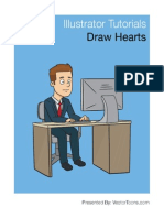 How to Draw a Heart Shape in Illustrator