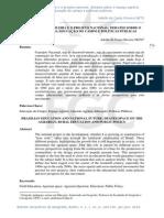 EDUCAÇÃO BRASILEIRA E O PROJETO NACIONAL