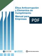 Manual de ética, anticorrupción y elementos de cumplimiento.