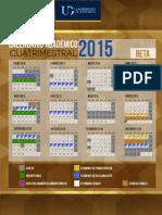 Calendario UG 2015