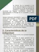DIAPOSITIVAS LA INDIGNIDAD SUCESORIA.pptx