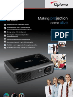 XGA Optoma Data Projector EX536 - Special offer