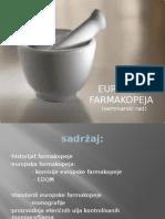 Europska Farmakopeja