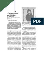 La práctica y la enseñanza del Qi Gong ALAIN BAUDET