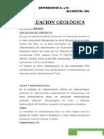 Evaluacion Geologica