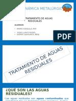 Trabajo Termodinamica Tratamientode a Aguas r
