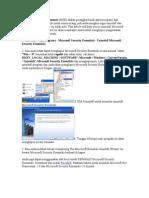 Microsoft Security Essentials Uninstal
