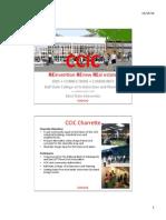 CCIC 2012 - Charrette Report