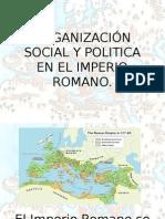 Organización Social y Politica en El Imperio Romano