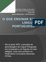 O Que Ensinar Em Língua Portuguesa