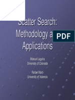 Scatter Search Methodology and Applications
