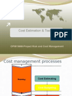 Lect#2-Cost Estimation & Tools-Chapter3&6(1)