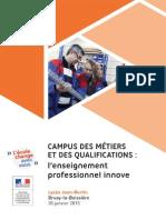 Dossier Campus des Métiers et des Qualifications