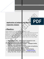 Applications and Uses of Polymers