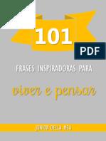 101 Frases Inspiradoras Para Viver e Pensar