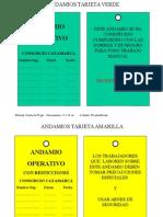 Tarjeta de Andamios