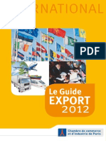 Guide Export 2012