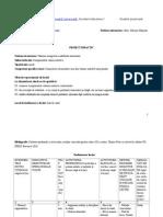 Proiect Didactic- Componentele Valorii Nutritive
