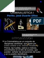 Introduccion a La Criminalistica científica