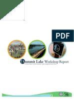 Summit Lake Workshop 2010 - Charrette Report