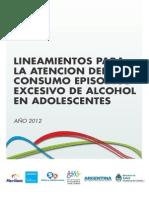 2012 10 31 Lineamientos Atencion Alcohol