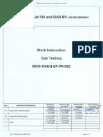 Mog Hseq Sfwewe Wi 082 Rev a1 Gas Testing