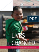Lives Changed Completion Report