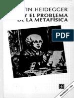 Heidegger - Kant y El Problema de La Metafísica